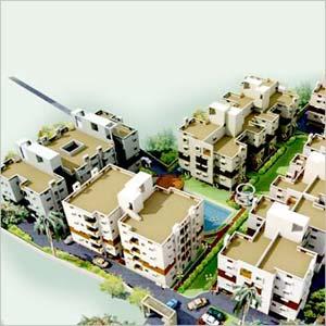 Model Town, Kolkata - Residential Houses