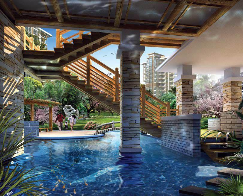 Emaar Palm Terraces Select Gurgaon Haryana India Residential Floors In Gurgaon