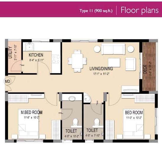 Trident galaxy bhubaneswar odisha india residential for 900 square feet apartment