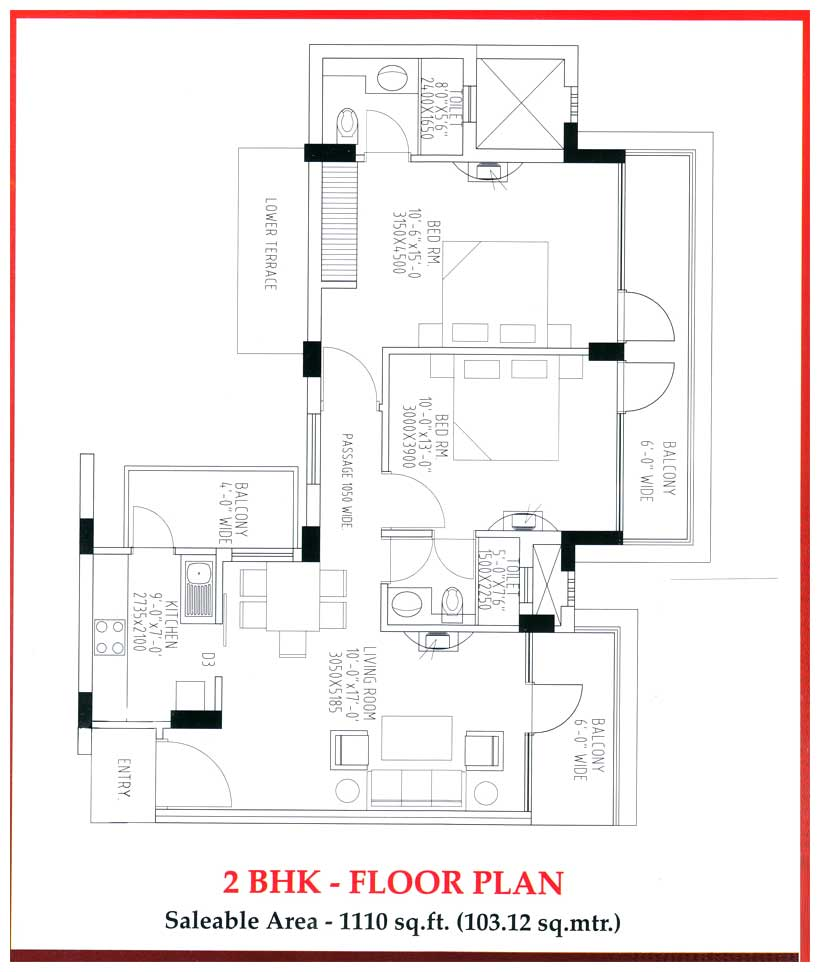 Tdi kingsbury flats sonipat haryana india 2 3 4 for Looking for 4 bedroom house