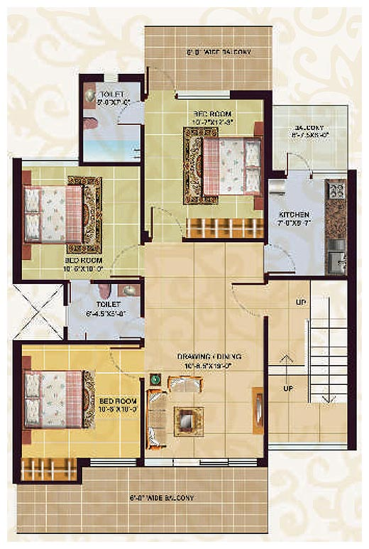 Floor plans omaxe city sonepat an residential project at Individual house plans