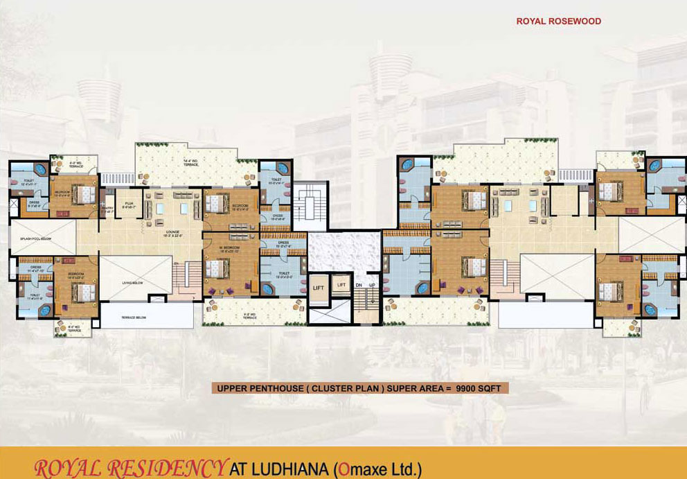 Free home plans cluster home plans for Cluster home plans