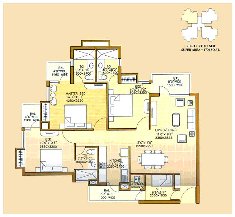 Signature homes ghaziabad uttar pradesh india residential for Architecture design for home in ghaziabad