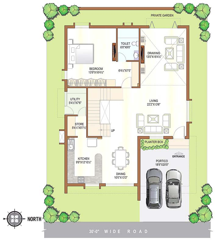 House plans in andhra pradesh house plans in andhra for 25x40 house plan