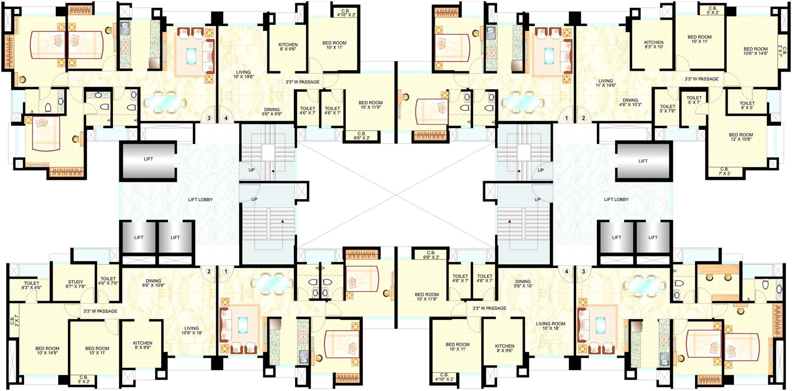 2 Bedroom Apartment Building Floor Plans 2 Bedroom Apartment Building Floor  Plans Beautiful Two Inside