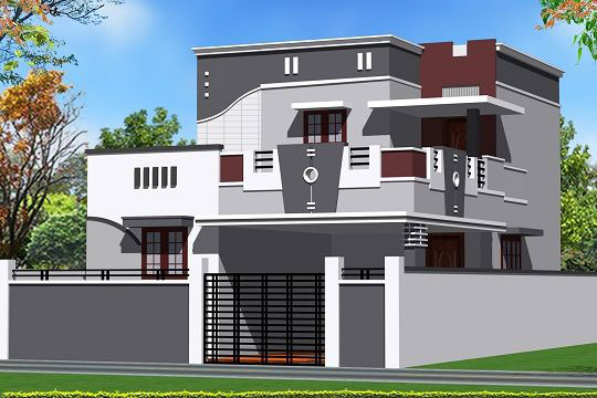 Ms garden site coimbatore tamil nadu india for Tamil nadu house plan