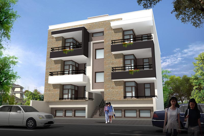 Vinayak apartments jaipur rajasthan india residential apartments in jaipur Home architecture in jaipur