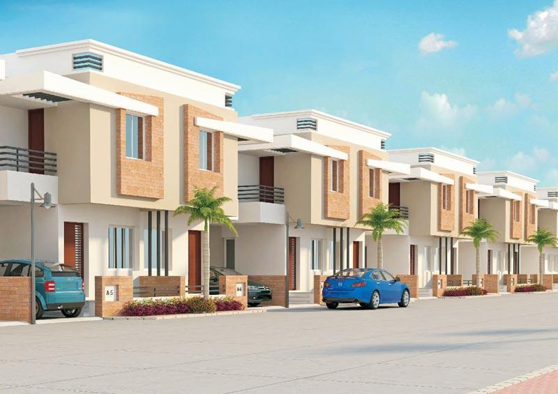 Aryan residency vadodara gujarat india 2 3 bhk duplex for Architecture design for home in vadodara