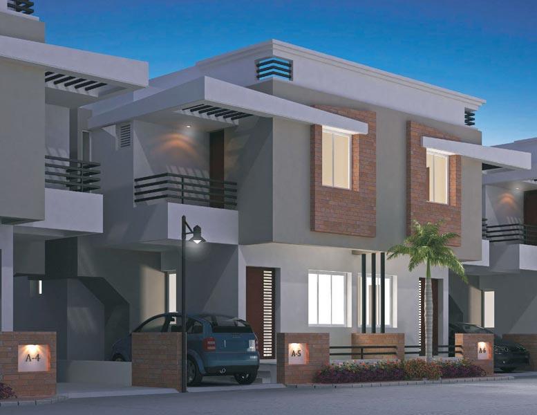 Aryan Residency Vadodara Gujarat India 2 3 Bhk Duplex