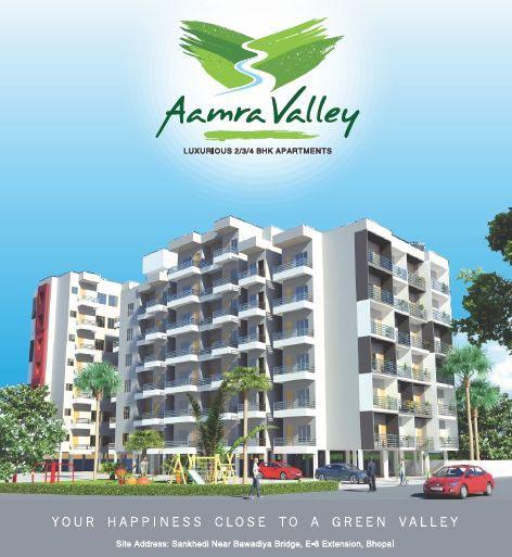 Aamra Valley Bhopal Madhya Pradesh India, 2, 3 & 4 BHK