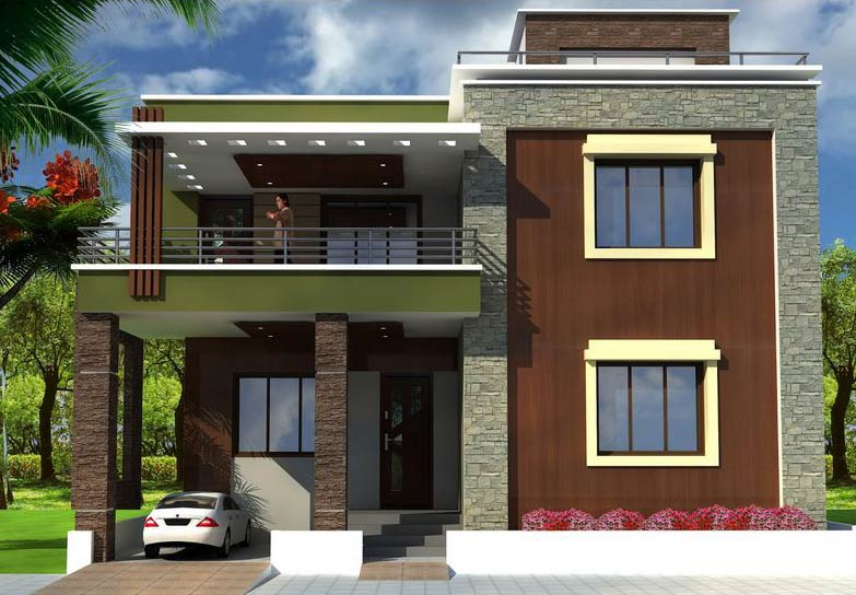 Front Elevation Of House In Punjab : Luxury homes jalandhar punjab india bhk double storied