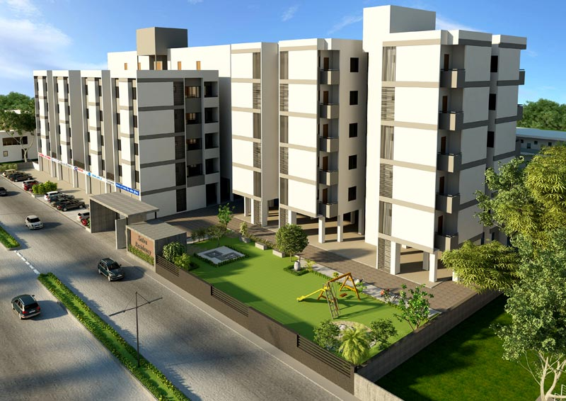 Satva II, Ahmedabad - 1/2 BHK Apartments & Shops