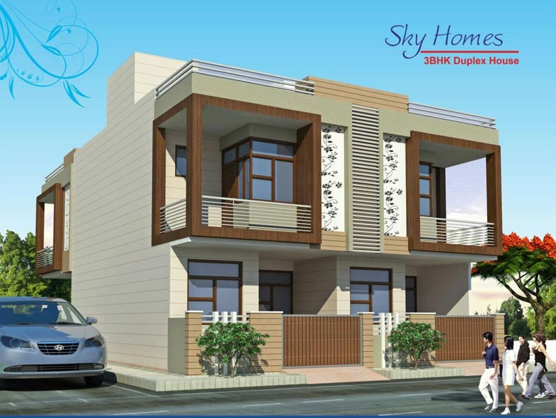 Sky homes jaipur rajasthan india duplex houses in jaipur Home architecture in jaipur