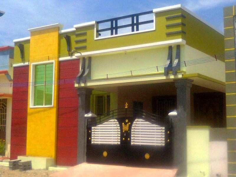 2 bhk individual house home for sale in salem rei353412 for Tamilnadu house images