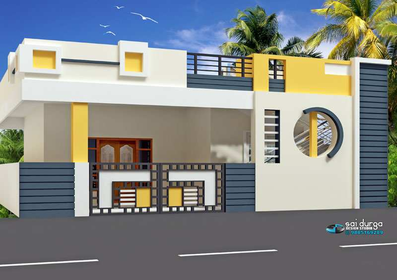 Bhk Plan Elevation Section : Elevation plans of bhk houses joy studio design gallery