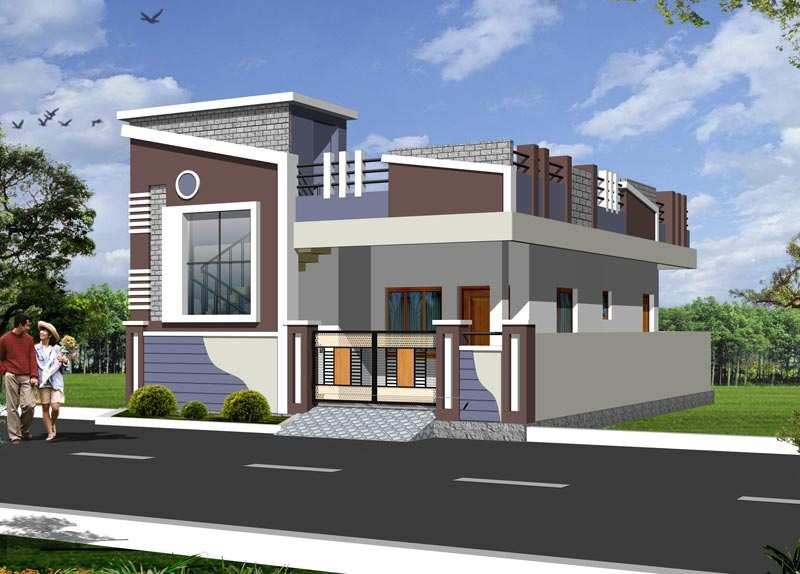 Individual House Elevations 5 bhk individual house /home for sale at ...