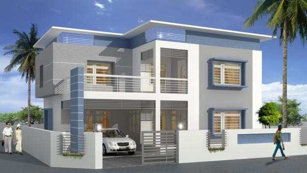 Design Of Compound Wall Of Bungalow : Bhk bungalows villas for sale at tambaram chennai