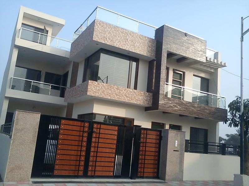 Front Elevation Of Houses In Chandigarh : Elevation design modern chandigarh joy studio