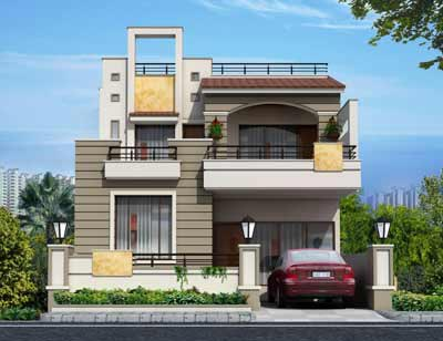 3 bhk bungalows villas for sale in ajmer road jaipur for Home architecture jaipur