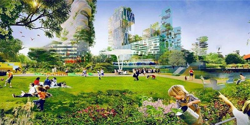 idea of green architect