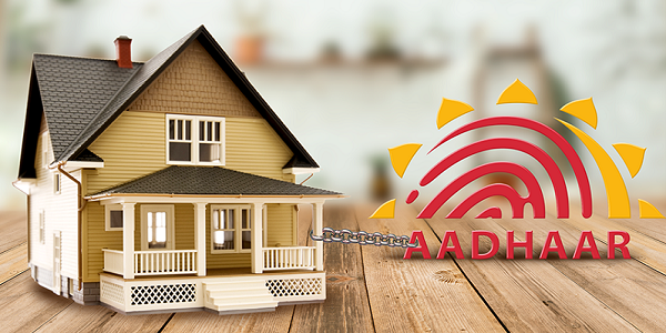 Aadhar-based authentication for property registration