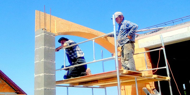 Constructing a home