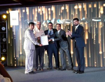 recieving along with my dad Mr vasudev Parwani from Mr Gaurav Bhatia , Mr J C Sharma , Mr Ravi Menon