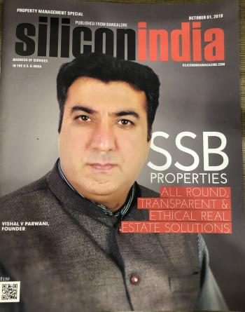 Featured In The Cover page of Silicon India Magazine Oct 2018 issue