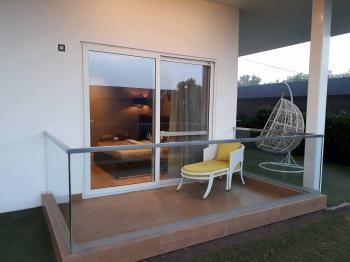 Sampla Flat Balcony