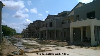 West Facing Row