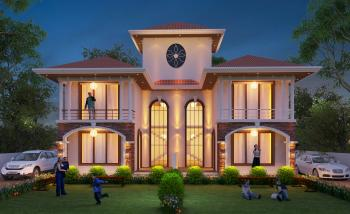 Lonavala Life, A Project by Samarth Estates. Twin Villa Elevation