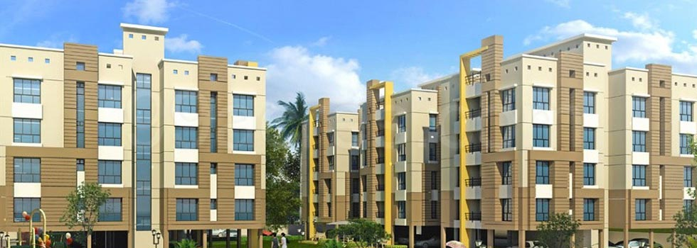 Clubtown Courtyard, Kolkata - Residential Apartments