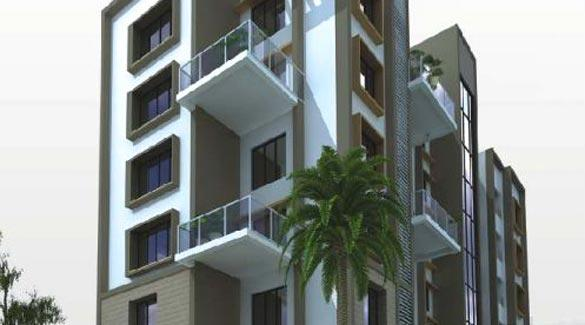 Pioneer Solitaire, Nagpur - 3 BHK Apartment