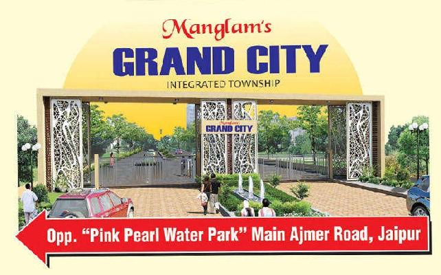 Manglams Grand City, Jaipur - Residential Plots