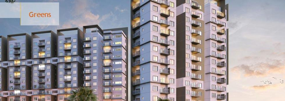 Greens, Bangalore - 2,3 BHK Flats