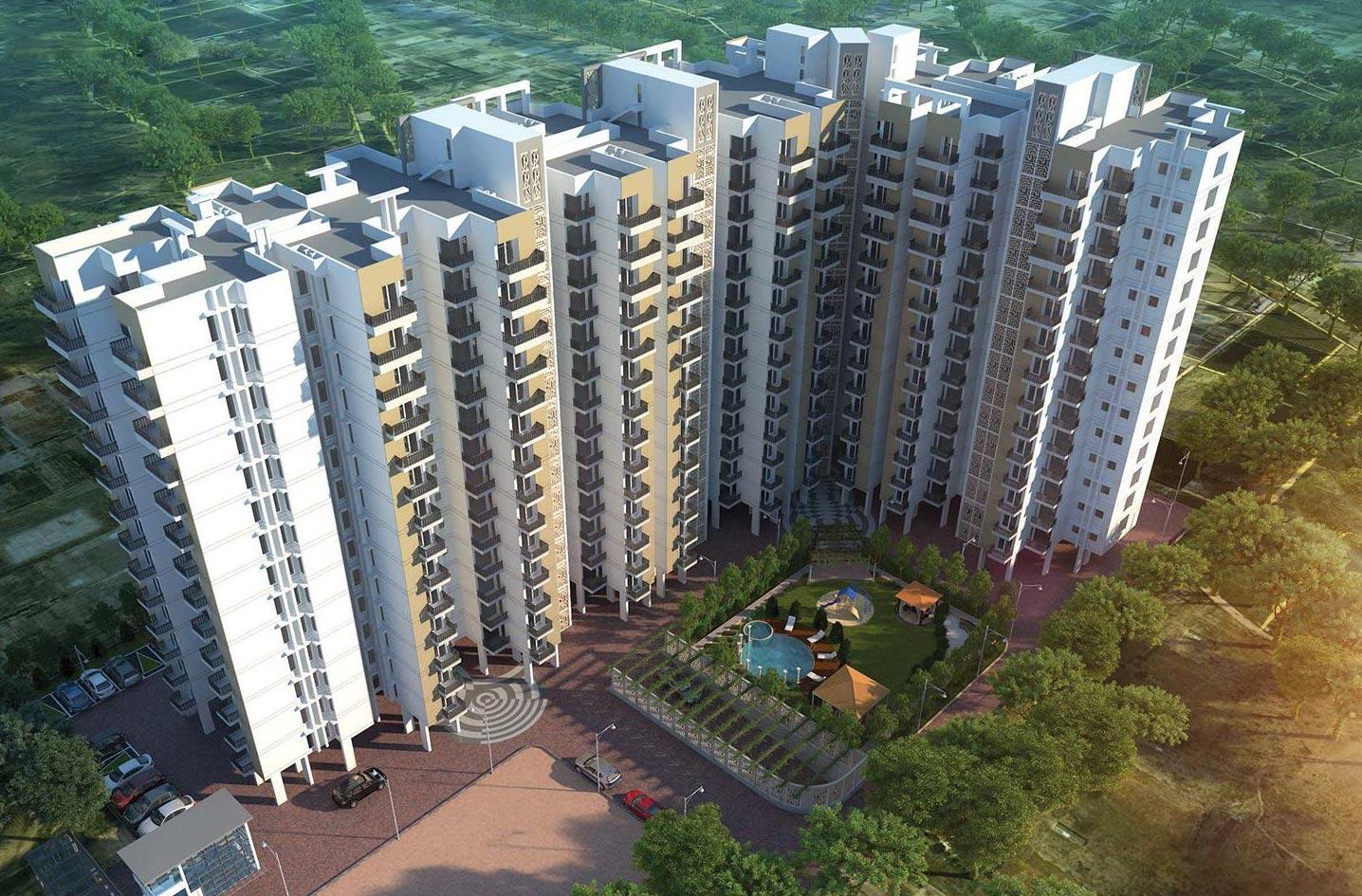Cosmos Green Phase 2, Bhiwadi - 2 & 3 BHK Apartments