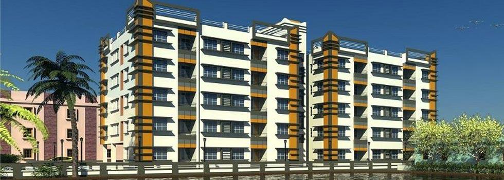 Lake Side Residency, Kolkata - 1,2,3 BHK Flats