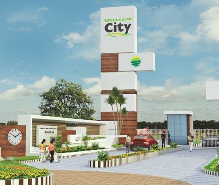 Greenearth City, Raipur - Luxurious Residences
