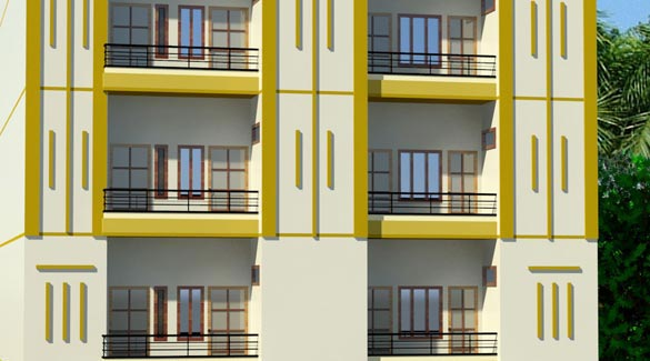 Shisl Tower, Noida - 1 & 2 BHK Apartments