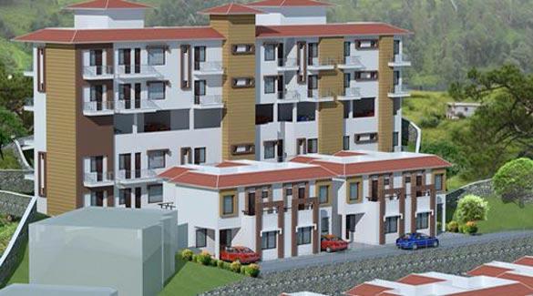 Naini Greens, Nainital - 1, 2 BHK Apartments & 3 BHK Cottage