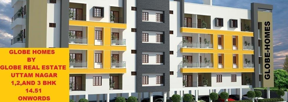 Globe Home 1, Delhi - 1, 2 & 3 BHK Apartments