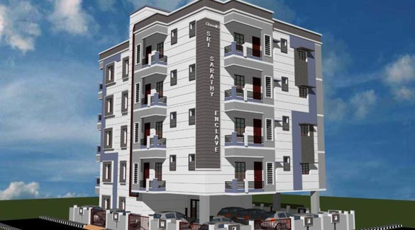 Sri Sarathy Enclave, Pondicherry City - 2 & 3 BHK Apartments
