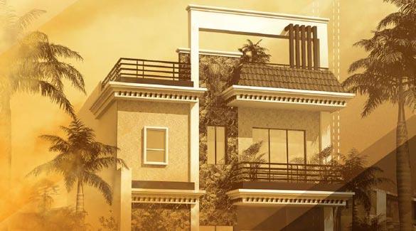 Vidhan Enclave Varanasi Uttar Pradesh India Duplex Row