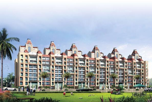 Ocean Park Residency, Goa - 1, 2, 3 BHK Apartments