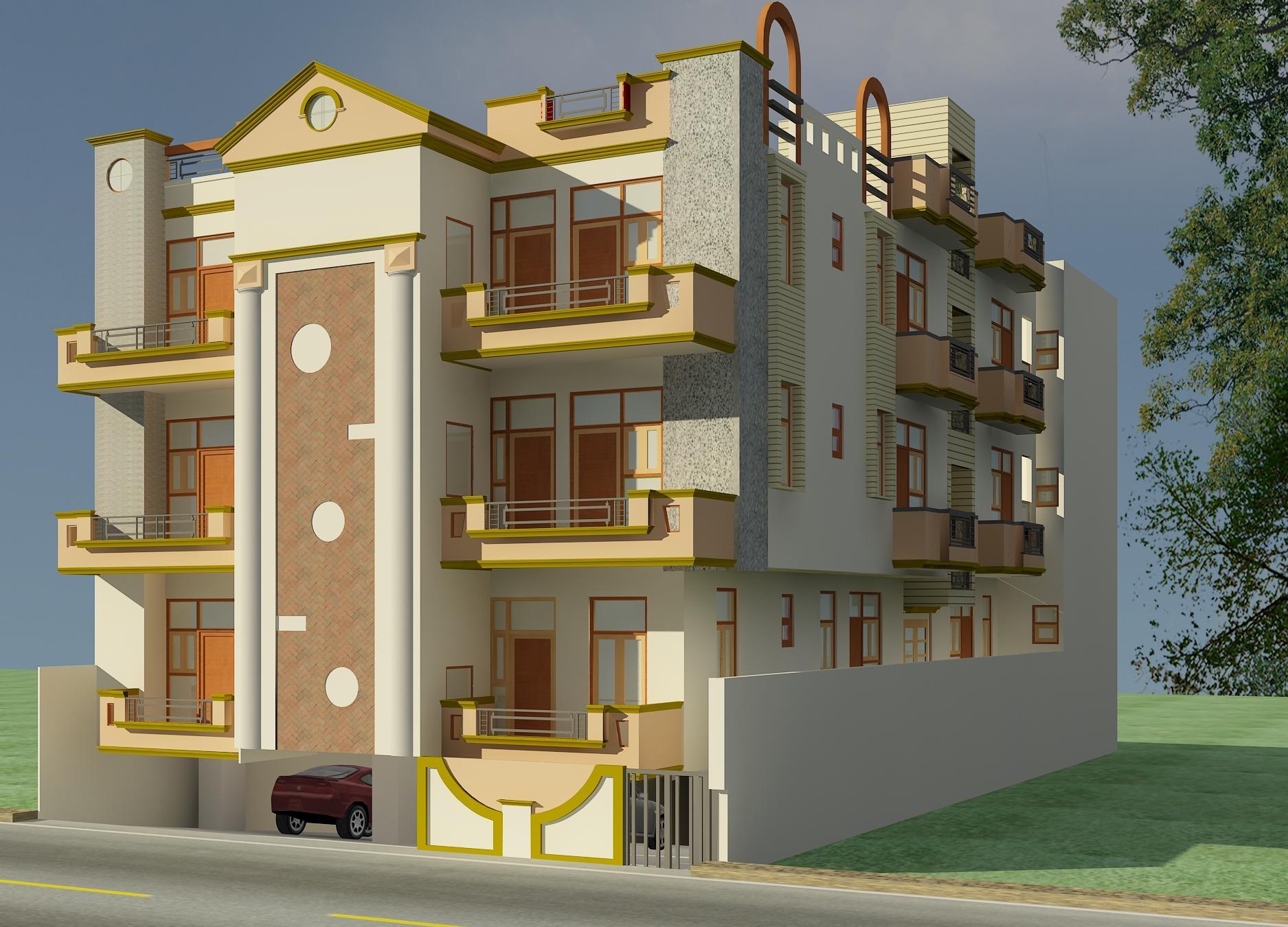 Adarsh Apartment 7, Delhi - Luxurious Apartment