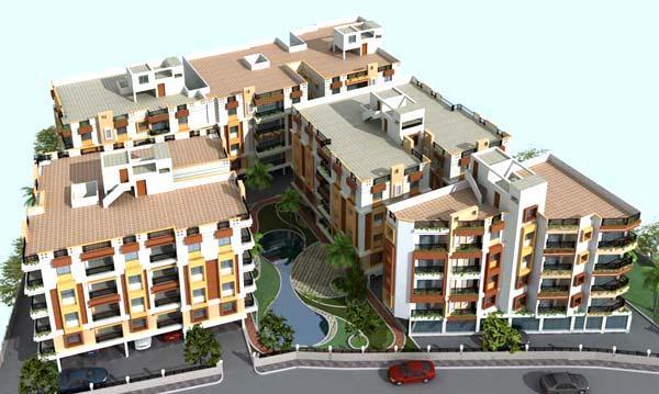 4 Sight Manor, Kolkata - G + 4 Residential Complex