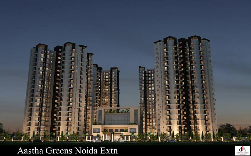 Aastha Greens, Greater Noida - Residential 2 & 3 Bedroom Flats