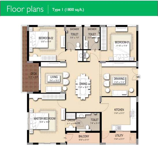 1800 Sq Ft Indian House Plans - Home Design 2017
