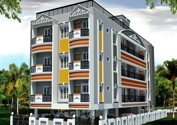 Sai Radha, Coimbatore - 2 BHK Apartments