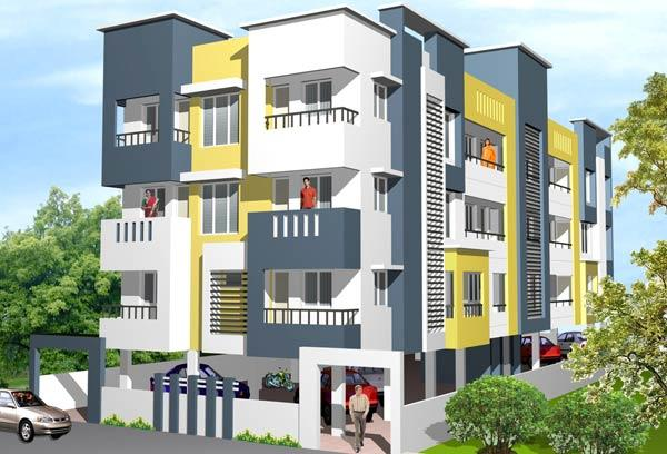 Sai Raja, Coimbatore - 2 BHK Apartments